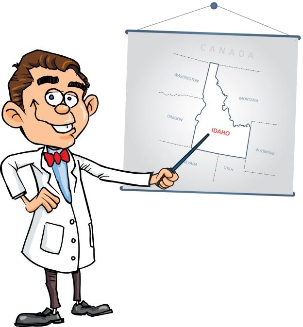Dr Potato_Idaho Map